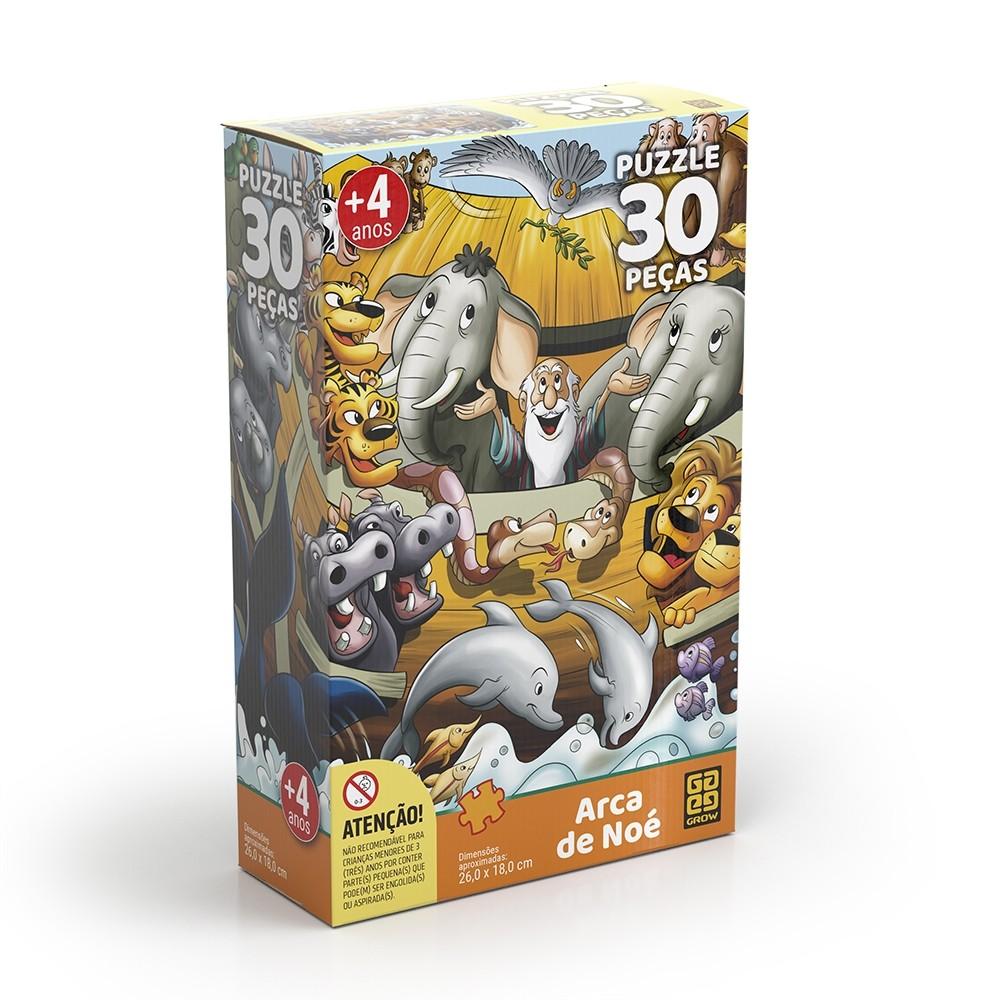 Puzzle 30 peças Arca de Noé - Grow