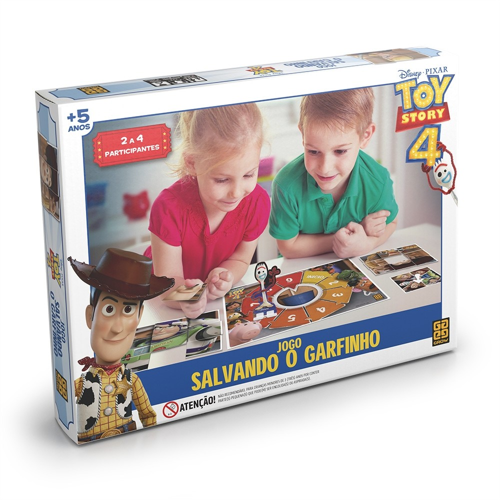 Jogo Salvando o Garfinho  Toy Story 4 - Grow