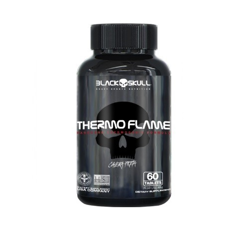 Thermo Flame - 120 Capsula - Black Skull