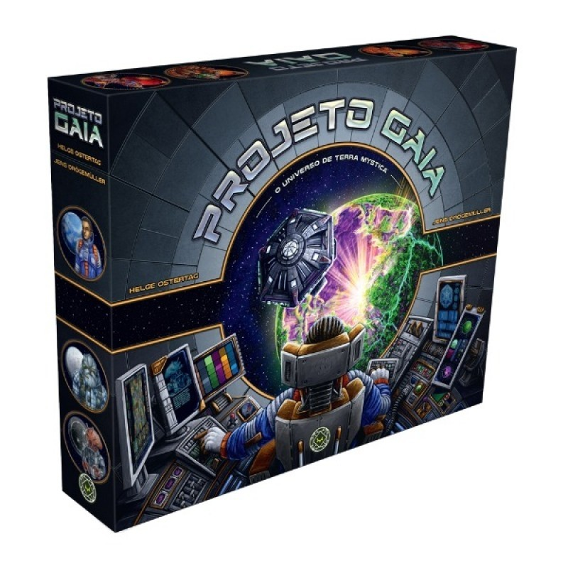 Projeto Gaia - Board Game - Grok