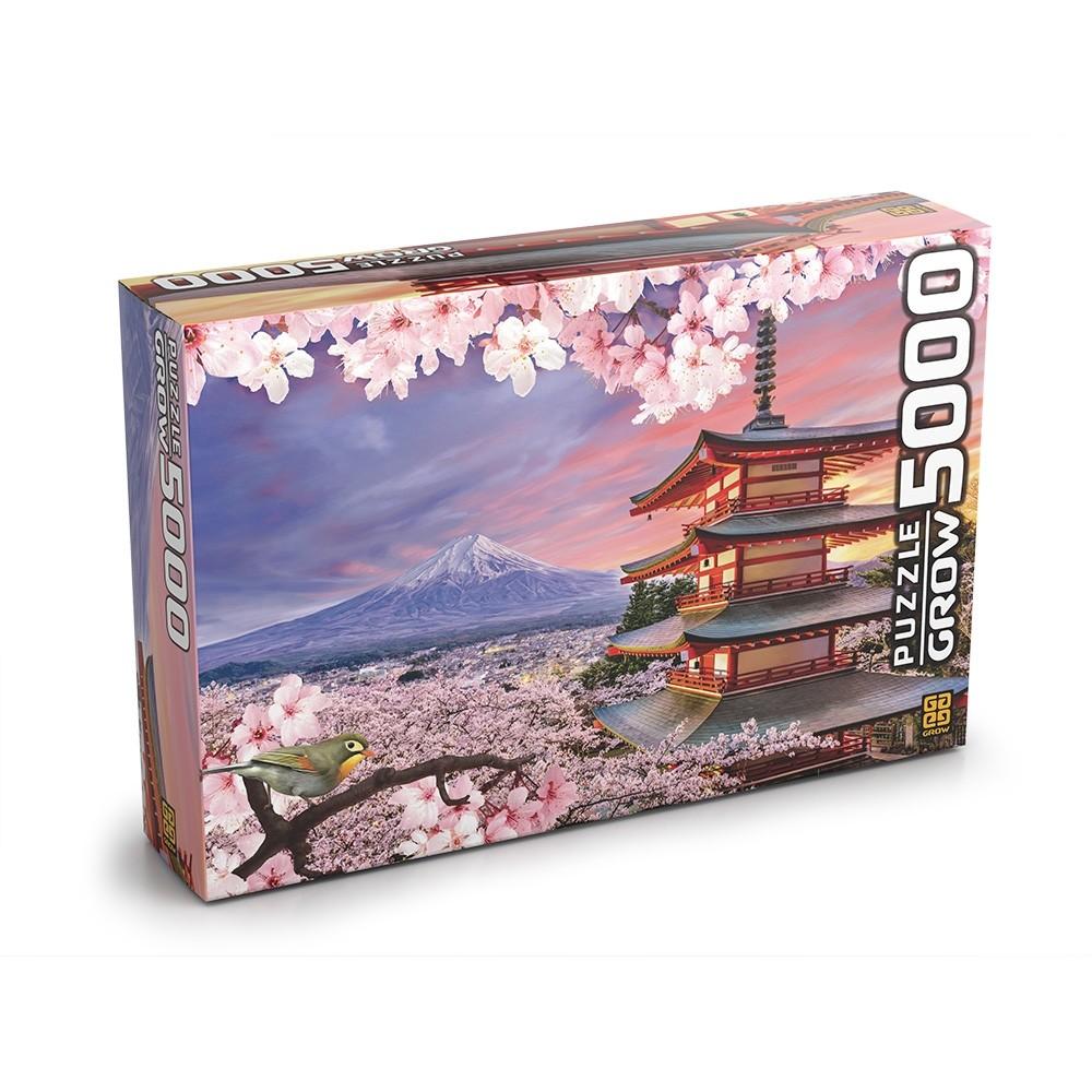Puzzle 5000 peças Monte Fuji - Grow