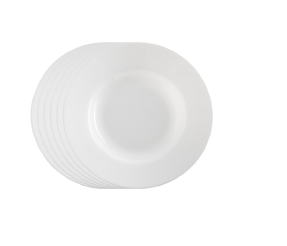 Jogo de Prato Opal Unique Fundo 22 cm - Casa Linda