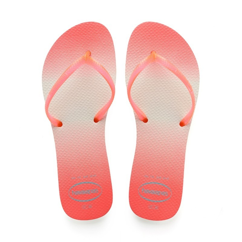 HAVAIANAS FLAT SUNSET - CORAL NEW