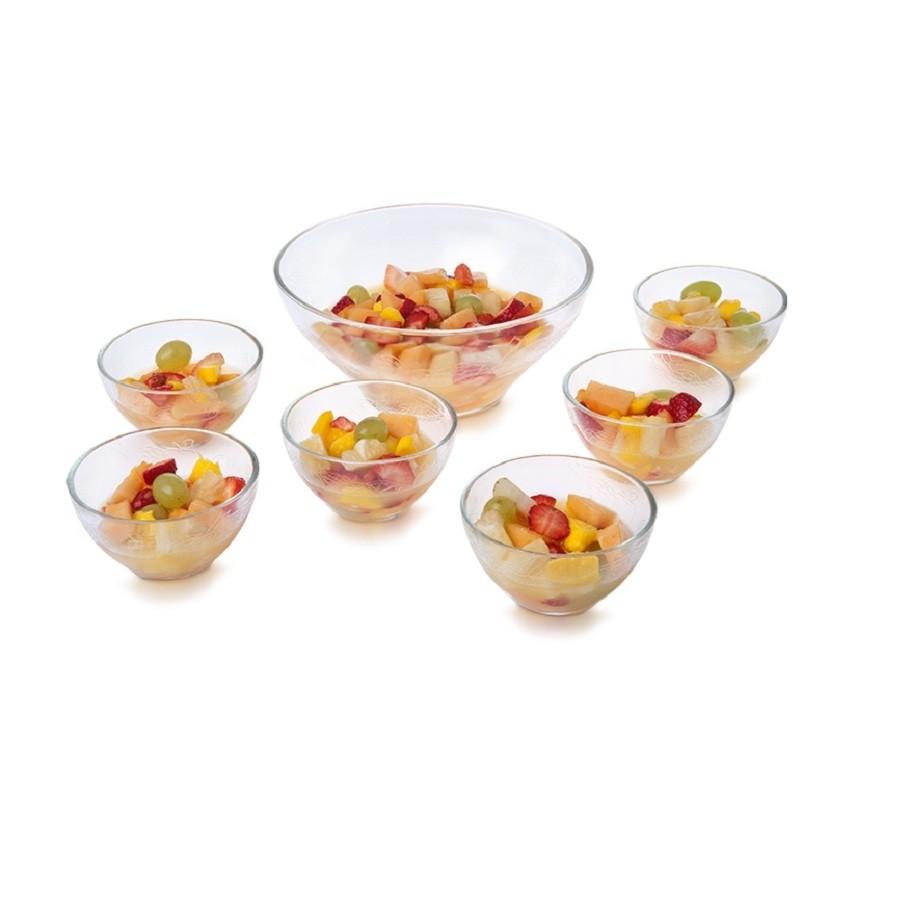 Jogo de Sobremesa Fruit Transparente - Casa Linda
