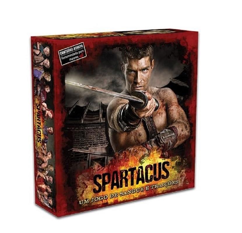 Spartacus: Um jogo de sangue e traições - Board Game - Kronos