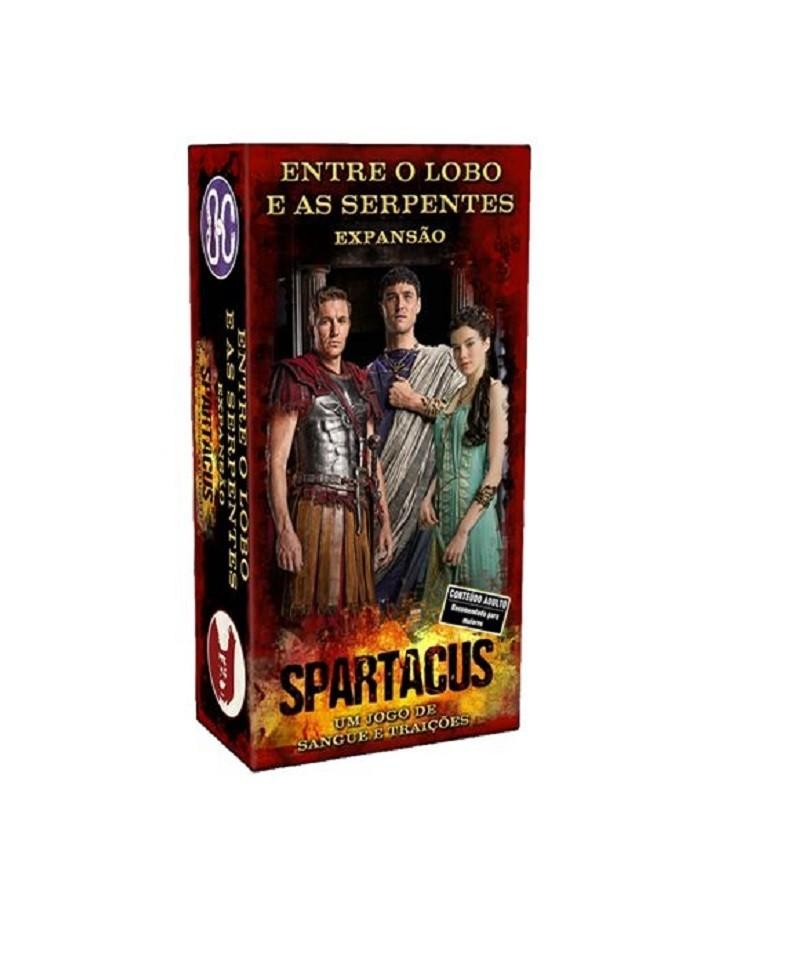 Spartacus : Expansão - Entre O lobo e as serpentes - Board Game - Kronos