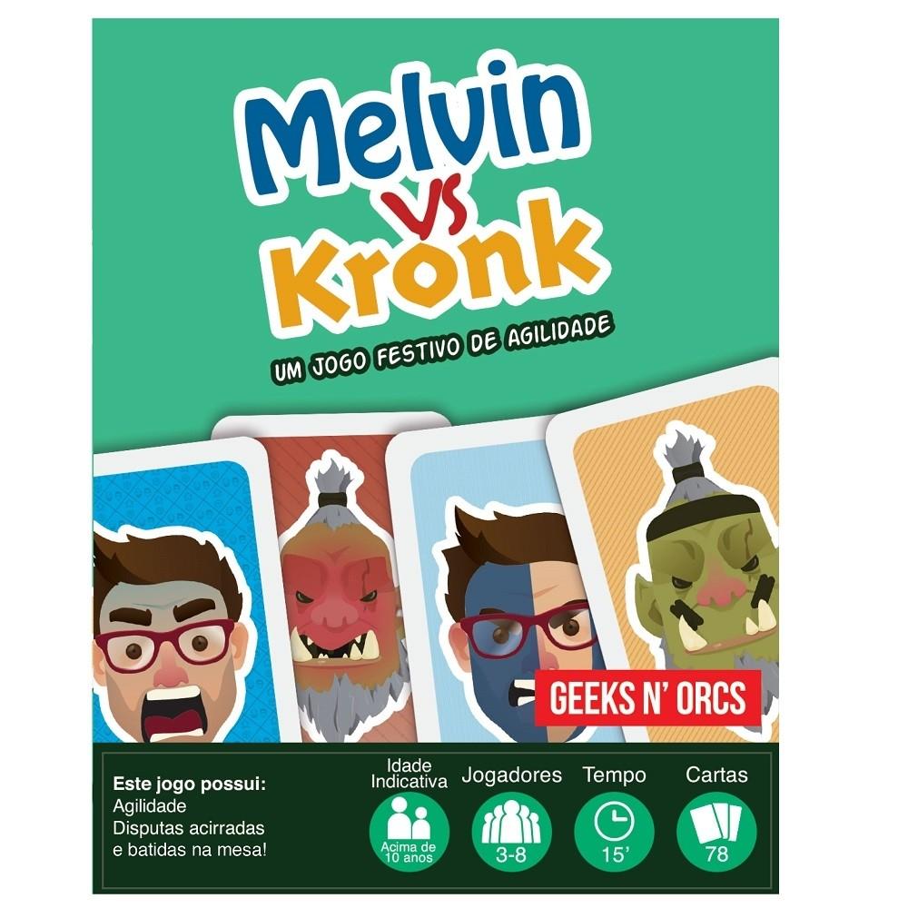 Melvin Vs Kronk - Jogo de cartas - Geeks N' Orcs