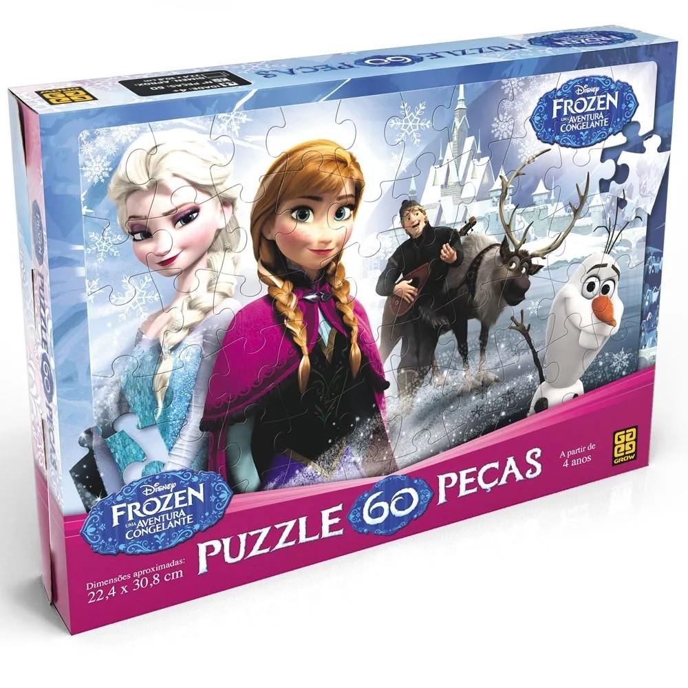 Puzzle 60 peças Frozen- Grow