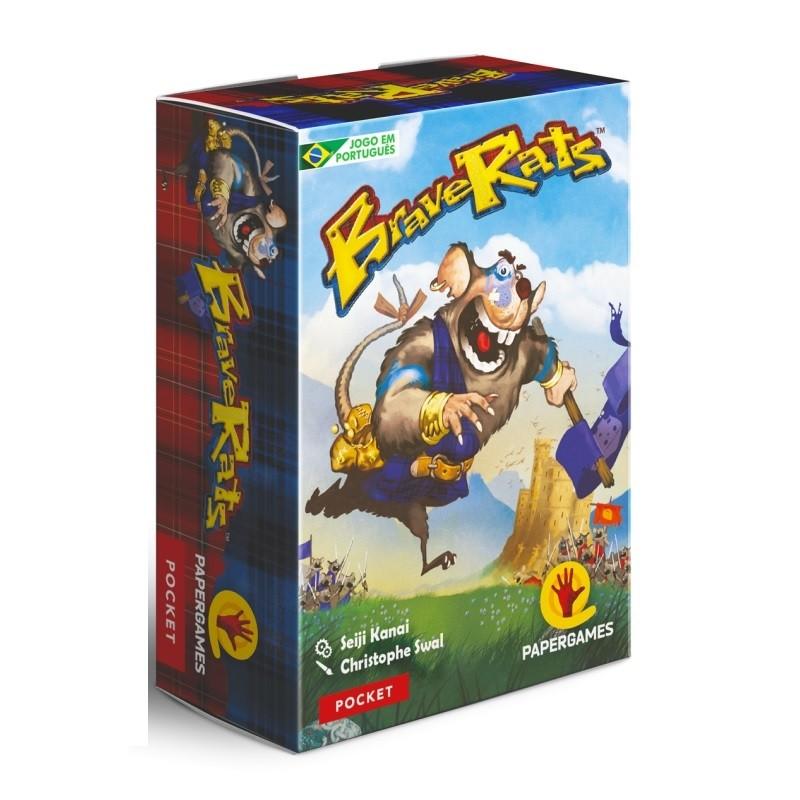 Brave Rats - Jogo de Cartas - Papergames