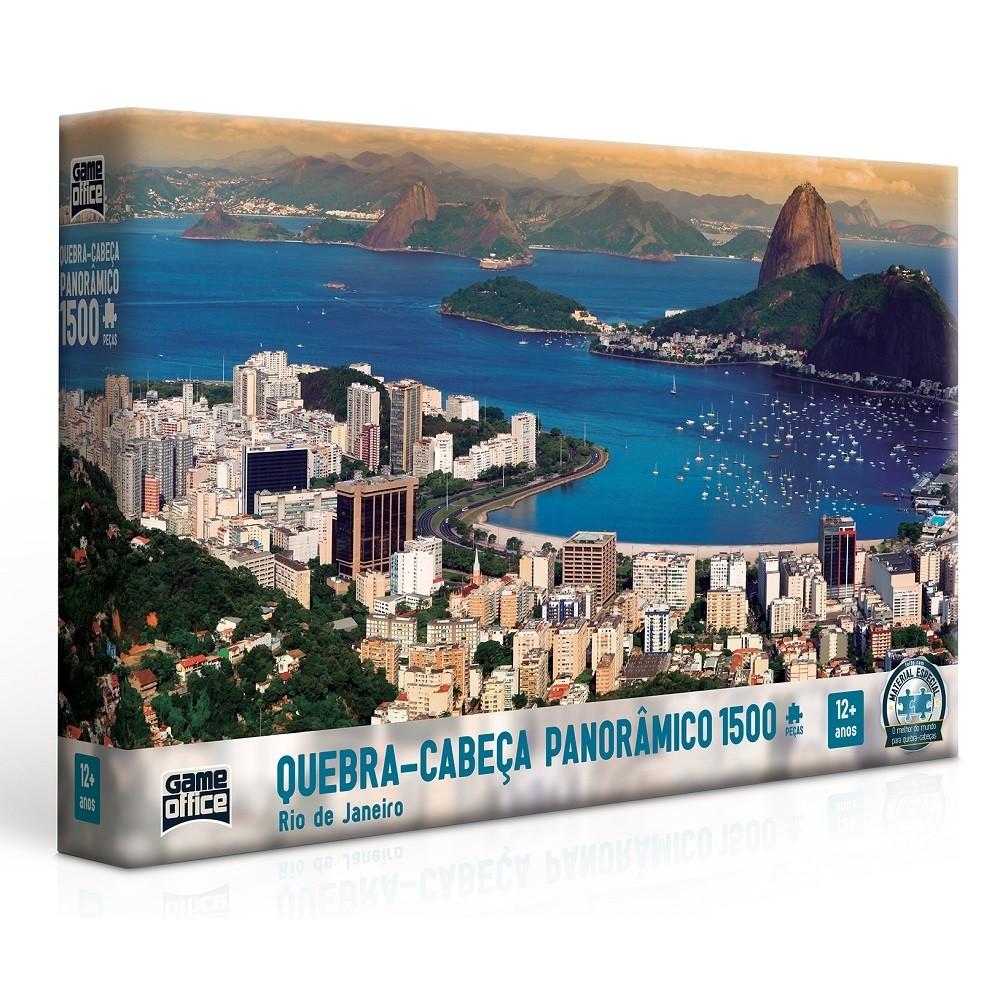 Quebra - Cabeça Panorâmico 1500 peças - Rio de Janeiro - Toyster