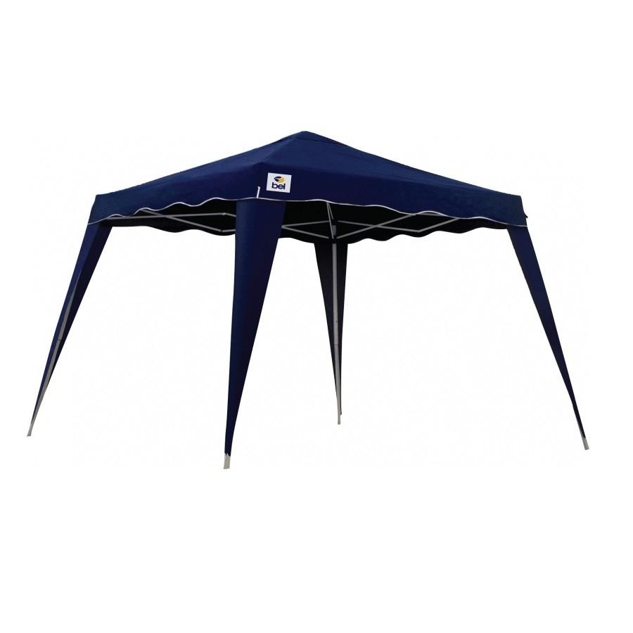 Tenda Gazebo Dobrável Articulada 3 x 3 x 2,4m Poliéster - Belfix - Azul