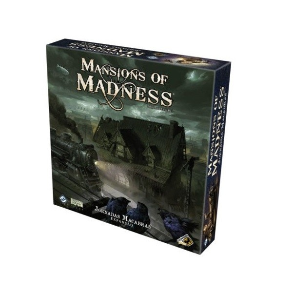 Jornadas Macabras - Expansão Mansions Of Madness - Galápagos