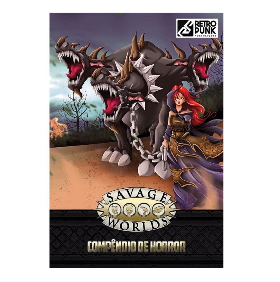 Savage Worlds: Compêndio de Horror - Rpg - Retropunk