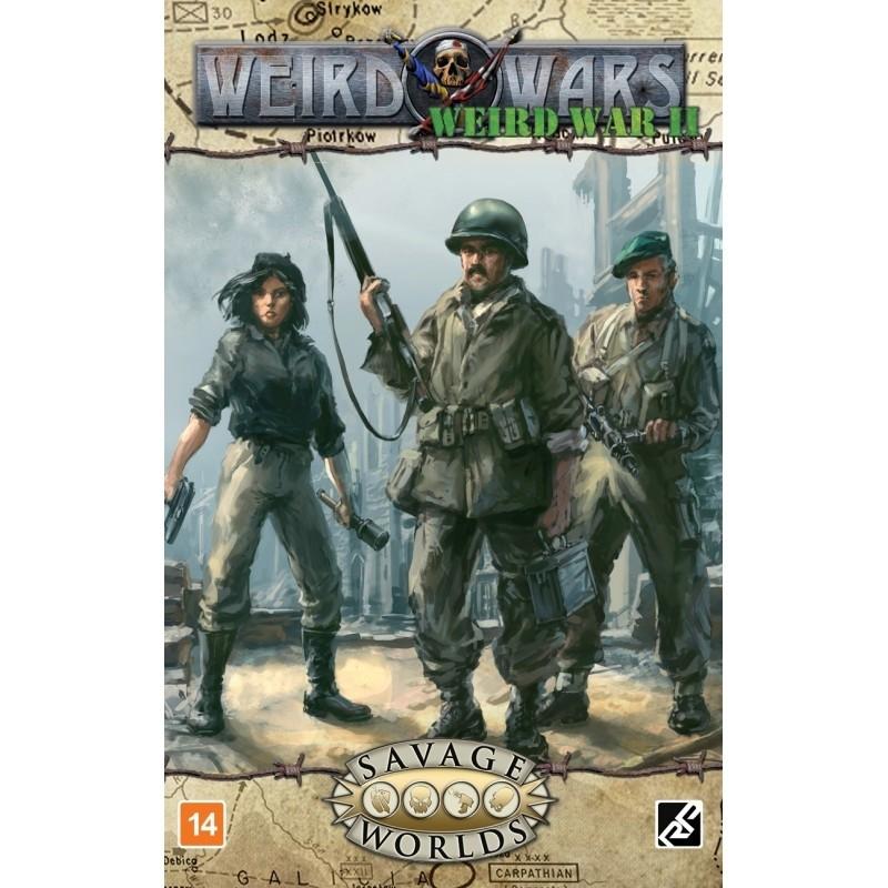 Weird Wars II - Livro de Regras - Rpg -  Retropunk