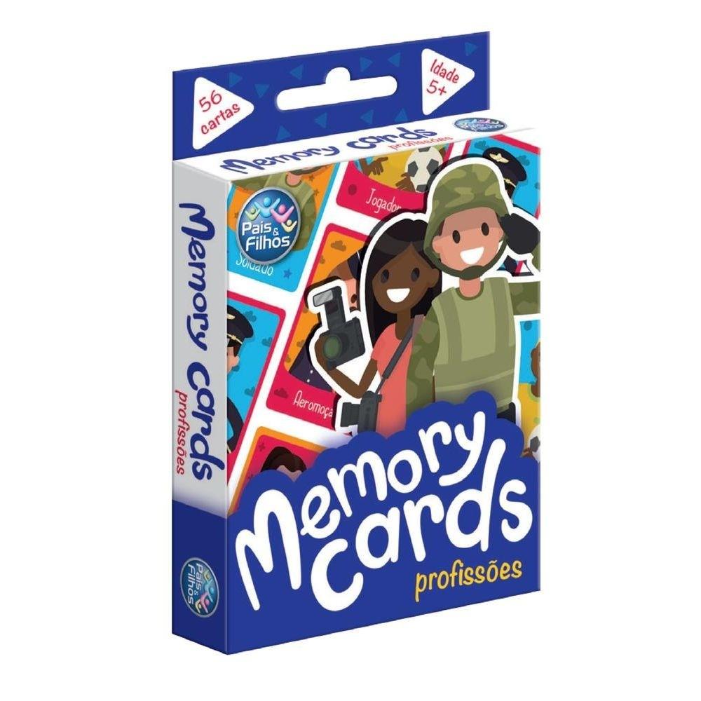 Memory Cards Profissões - Jogo da Memoria - Pais e Filhos
