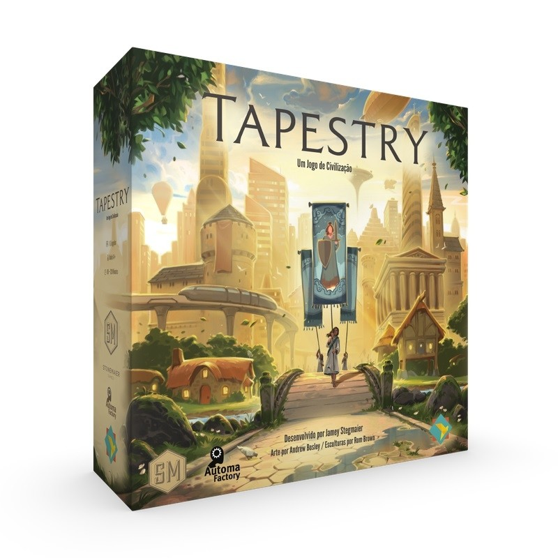 Tapestry - Jogo de Tabuleiro - Grok