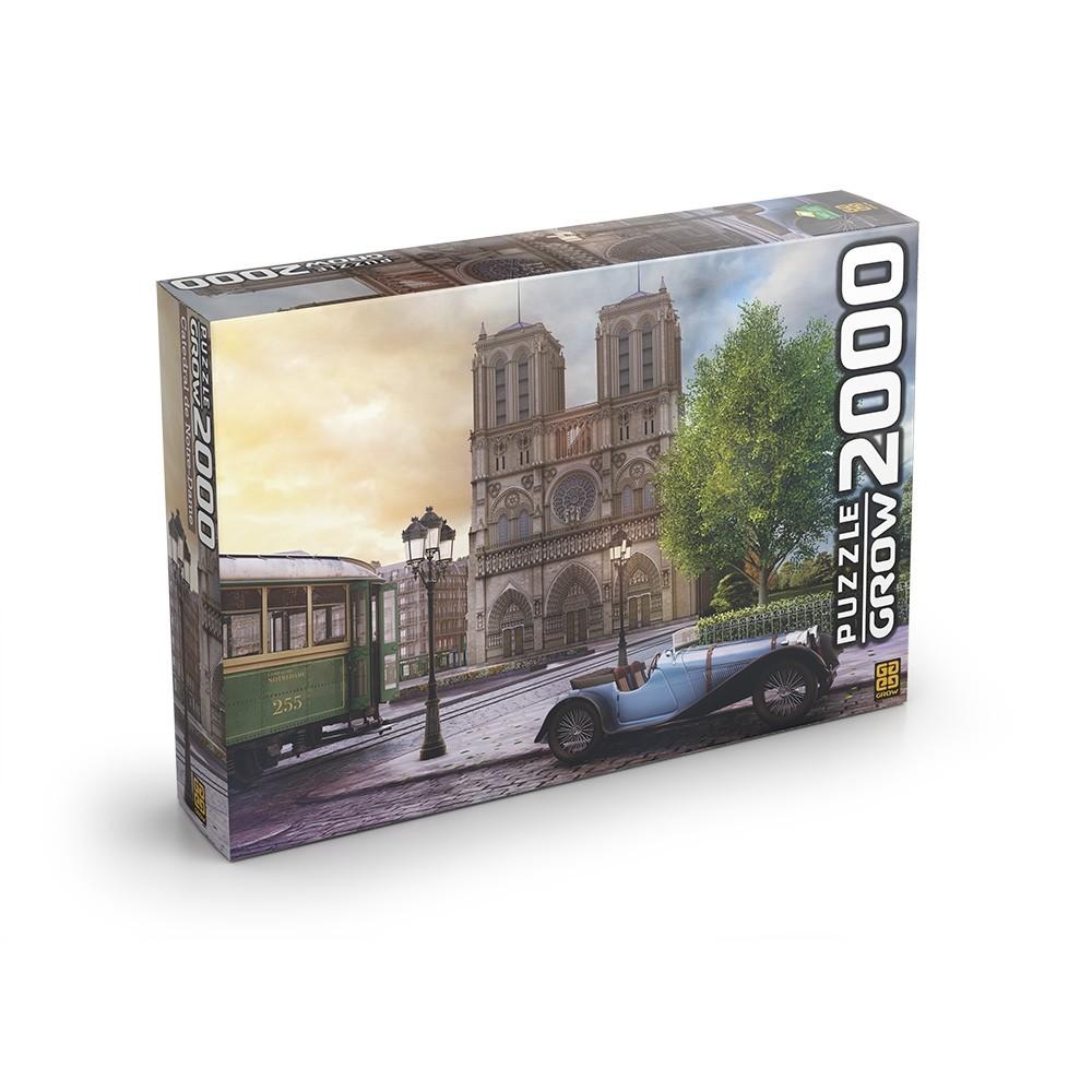 Puzzle 2000 peças Catedral de Notre-Dame - Grow