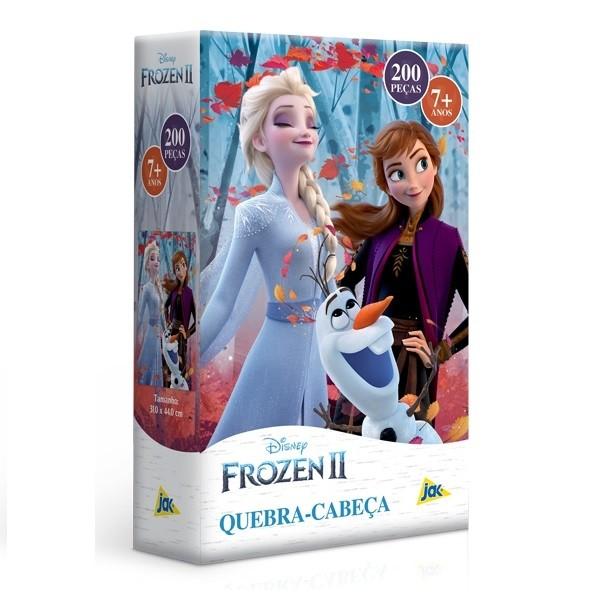Quebra Cabeça 200 Peças - Frozen II - Toyster