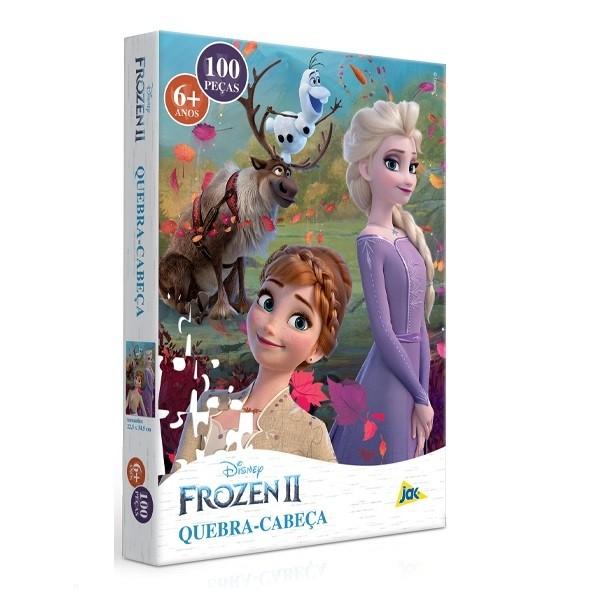 Quebra Cabeça 100 Peças - Frozen II - Toyster