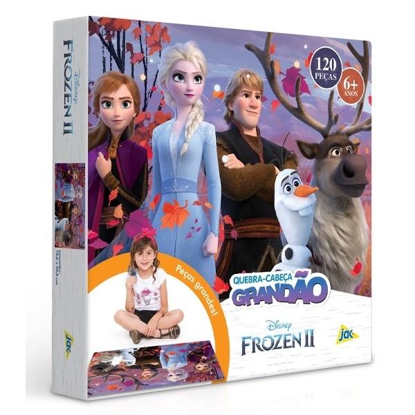Quebra Cabeça  Grandão 120 Peças - Frozen II - Toyster