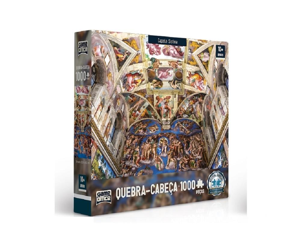 Quebra - Cabeça 1000 peças - Capela Sistina - Toyster