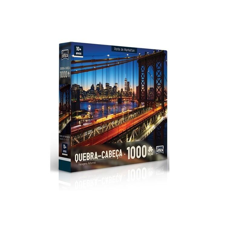 Quebra - Quebra  1000 peças - Ponte de Manhattan - Toyster