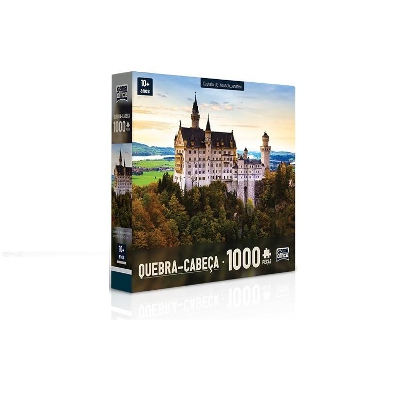 Quebra - Quebra  1000 peças - Castelo de  Neuschwanstein - Toyster