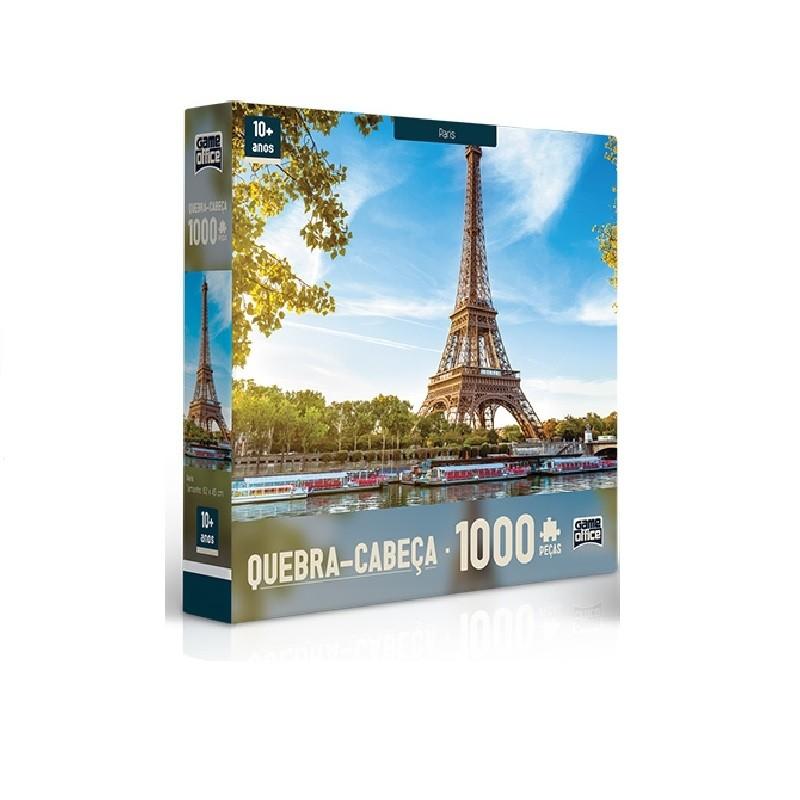 Quebra- Cabeça 1000 peças - Paris - Toyster