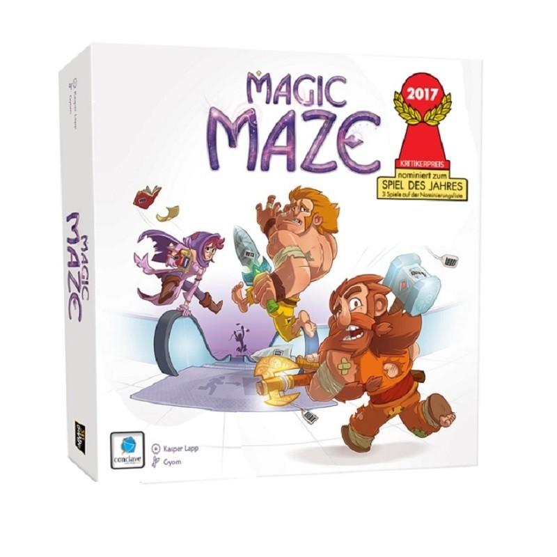 Magic Maze - Jogo de Tabuleiro - Conclave