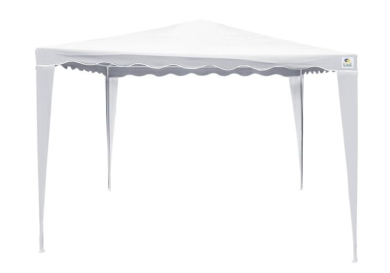 Tenda Gazebo em Poliéster 2,4 x 2,4m - Belfix - Branco