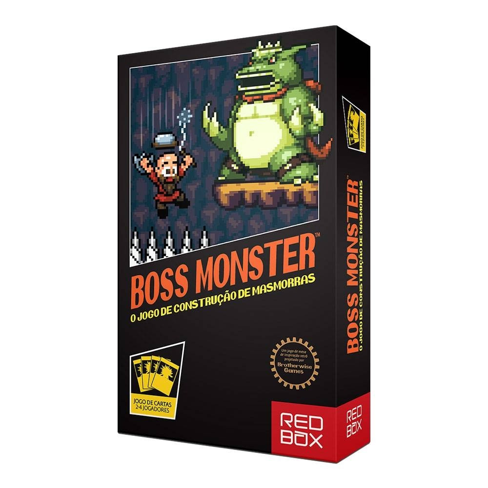Boss Monster - Jogo de Cartas - Redbox