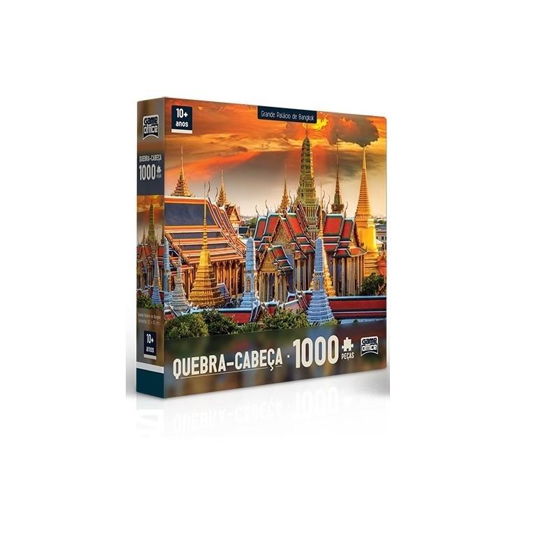 Quebra- Cabeça 1000 peças - Palácio de Bangkok – Toyster
