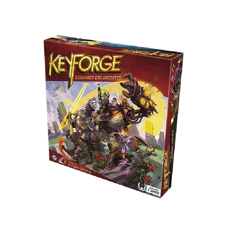 Keyforge - O Chamado dos Arcontes - Jogo de Cartas (PT)  Galápagos