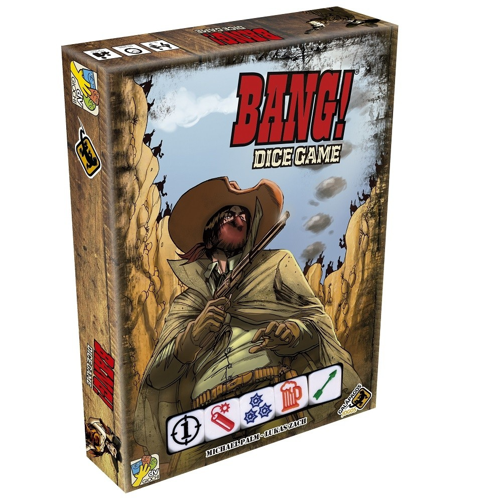 Bang! Dice Game - Jogo de Cartas - Galápagos