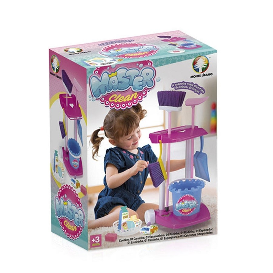 Kit de Limpeza Infantil  Master Clean - Monte Líbano