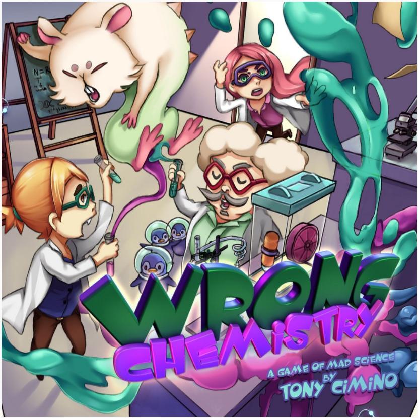 Wrong Chemistry - Jogo de Cartas - Meeple BR