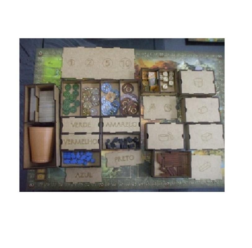 Organizador (Insert) para Stone Age - Bucaneiros