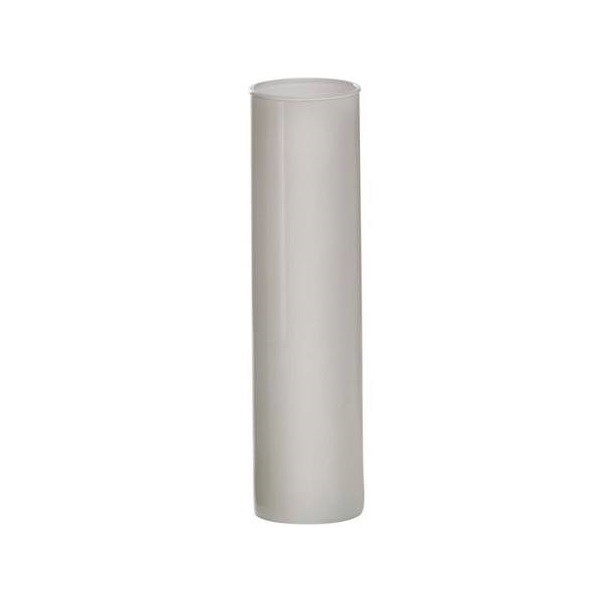 Vaso Liso 6,50x25cm Branco - Luvidarte