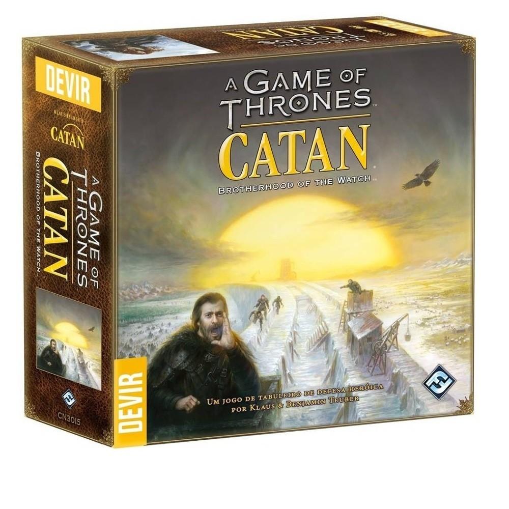 A Game of Thrones: Catan- Jogo de Tabuleiro - Devir