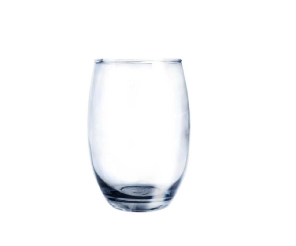 Conjunto de Copos Bellagio Transparente 450ml - Com 6 Peças - Casa Linda