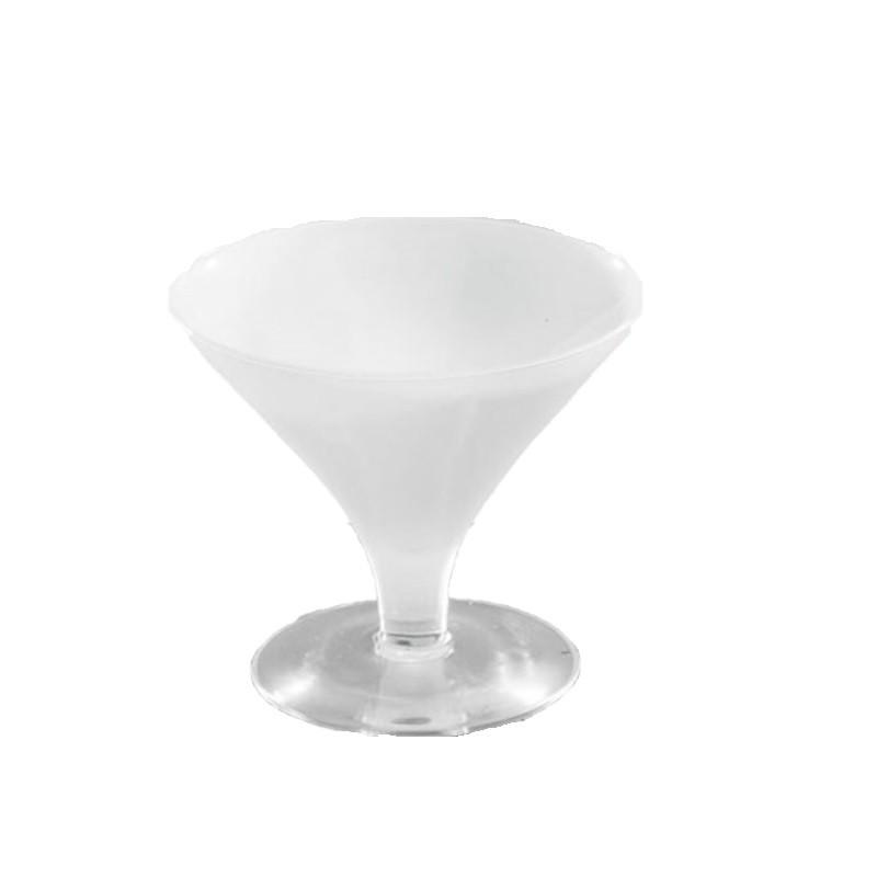 Taça Mini Centro de Mesa Branco - Luvidarte