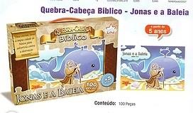 QUEBRA CABEÇA BÍBLICO - JONAS E A BALEIA