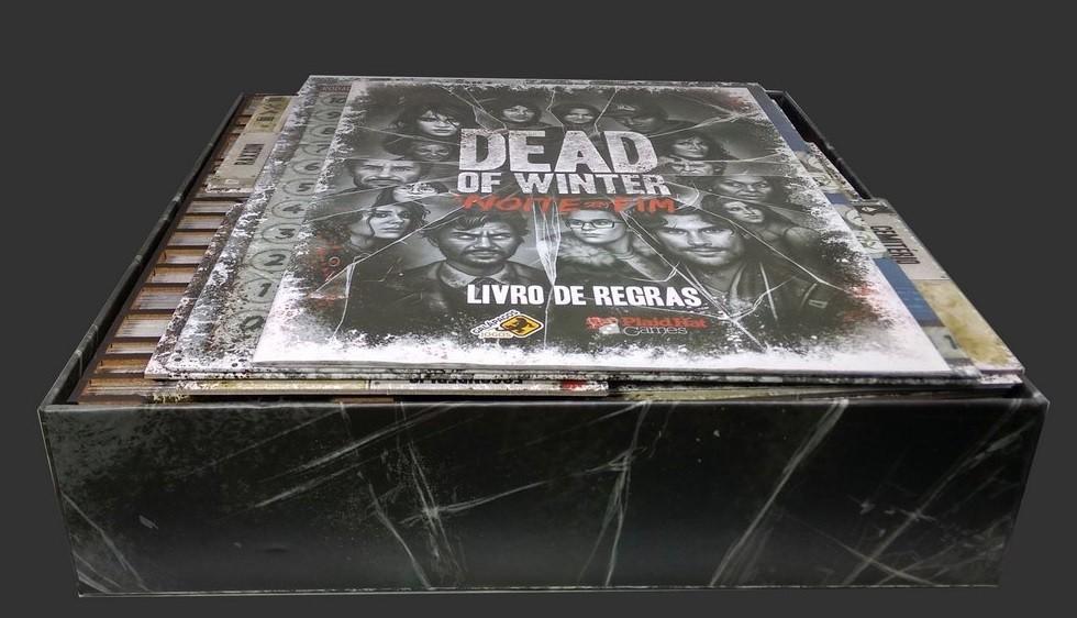 Organizador (Insert) para Dead of Winter - A Noite Sem fim - Bucaneiros