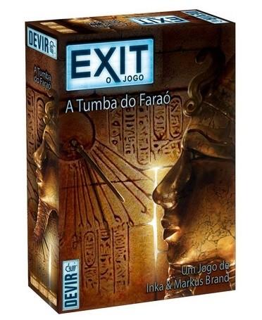 Exit: A Tumba do Faraó - jogo de cartas - Devir