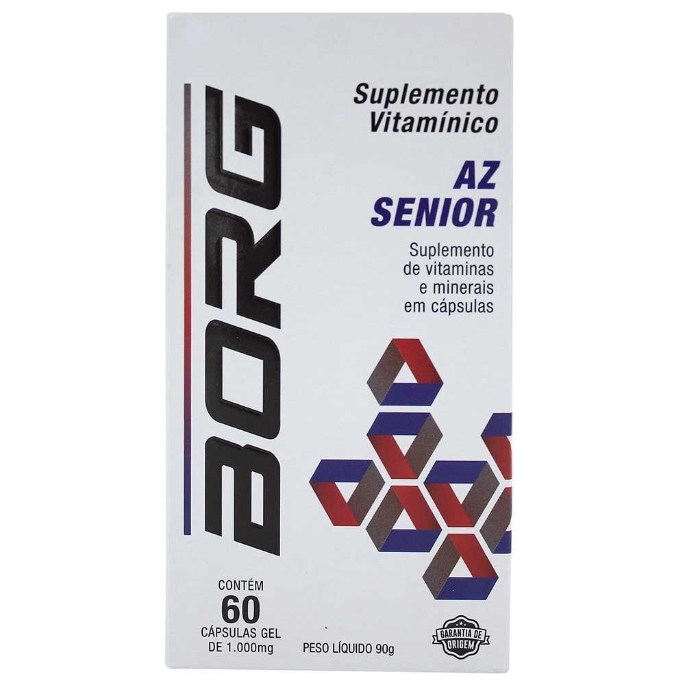 Suplemento Vitamínico A  a Z Senior - BORG