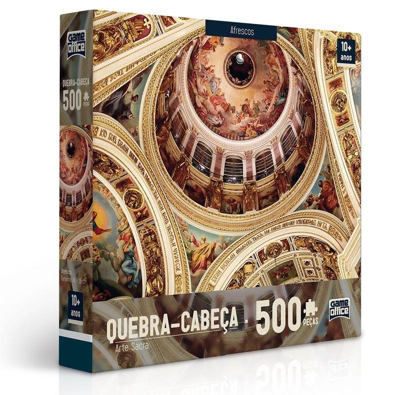 Quebra-Cabeça 500 peças - Arte Sacra - Afrescos - Toyster