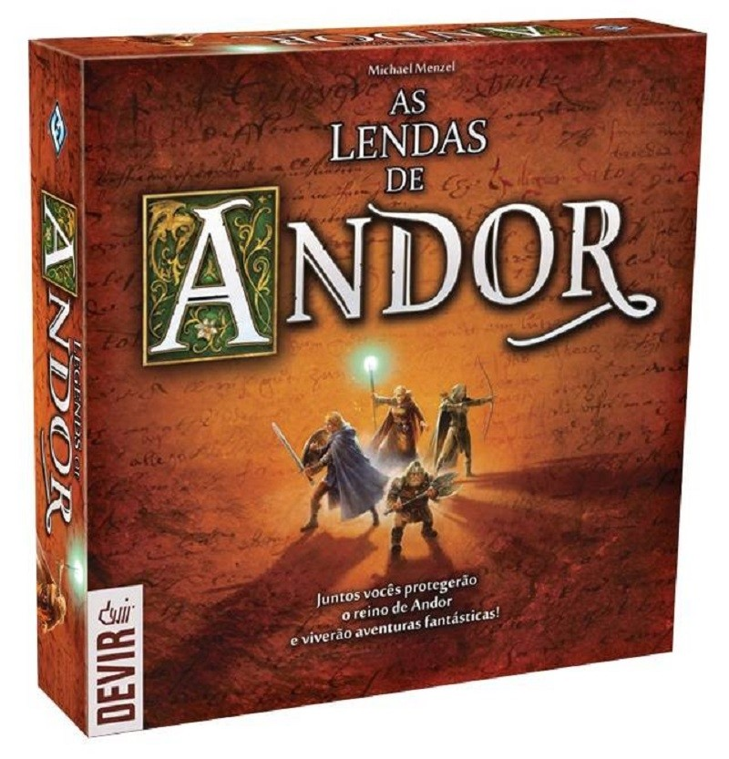 As lendas de Andor - Board Game - Devir