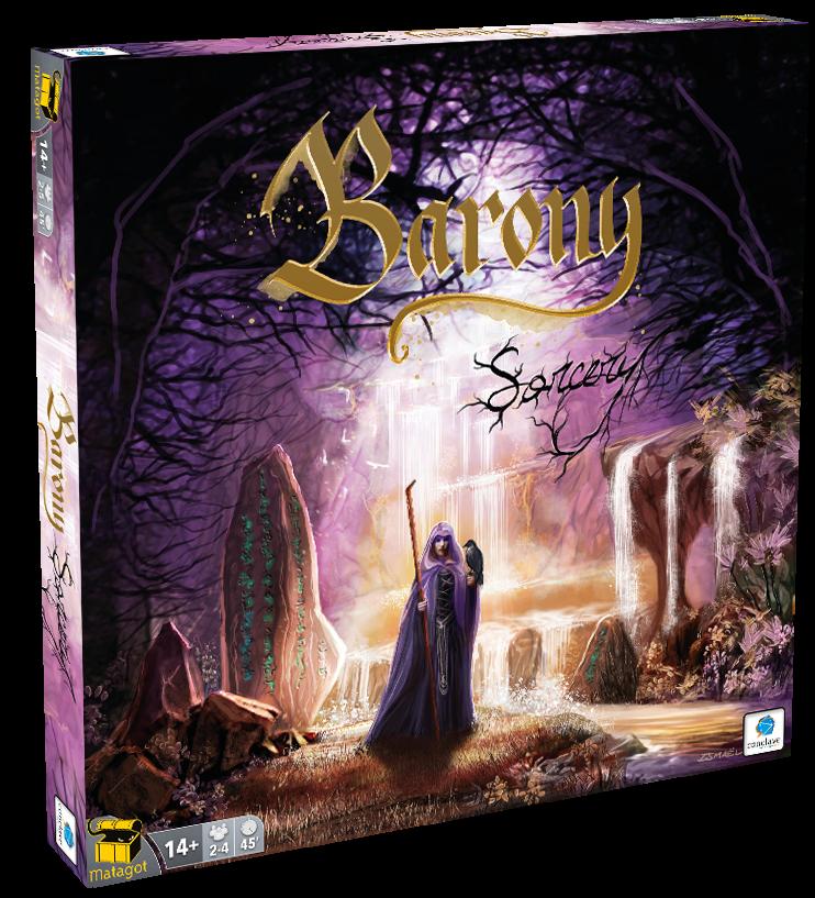 Barony Sorcery - Expansão - Jogo de Tabuleiro - Conclave