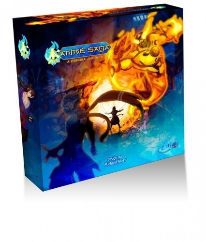 Anime Saga - Jogo de Tabuleiro (Boardgame) - Arcano Games (Meeple Br)