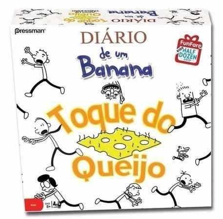 Diário de um Banana: Toque do Queijo - Jogo de Tabuleiro - Devir